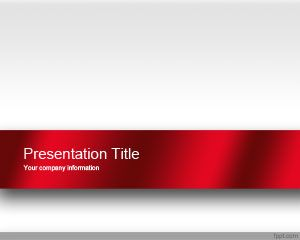 Red Engage PowerPoint Template