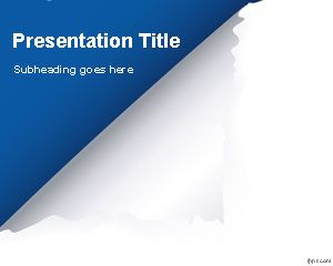 Page Flip PowerPoint Template