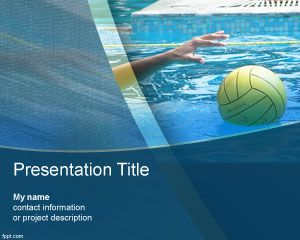Water Polo PowerPoint Template