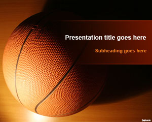 Template basket Pelatihan PowerPoint
