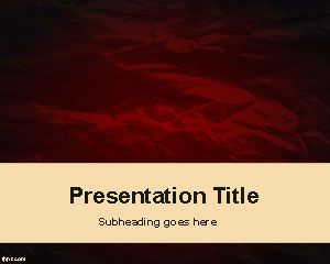 Thriller PowerPoint Template