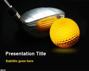 Format Golf Club PowerPoint