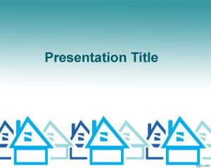 House powerpoint free download housing finance powerpoint template toneelgroepblik Image collections