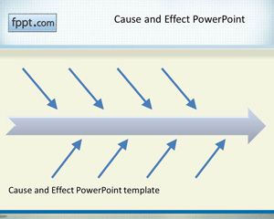 Cauza si Efect PowerPoint Template