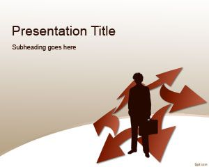 Competitiv Template Strategia PowerPoint