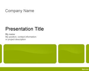 Template Executive Training PowerPoint