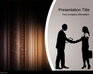 Negosiasi Penjualan Strategi PowerPoint Template