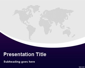 Template PowerPoint Global B2B
