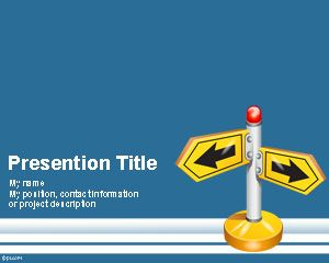 Suivez Direction PowerPoint Template