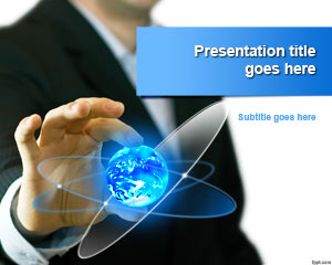 Template Bisnis Global Trends PowerPoint