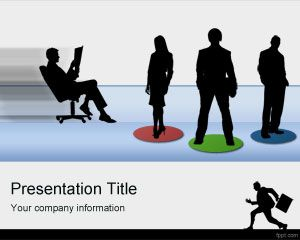 Employees PowerPoint Template