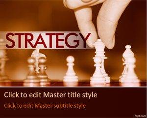 Free Strategy PowerPoint Template