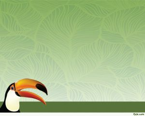 Plantilla Toucan Bird PowerPoint