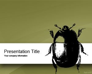 Bug PowerPoint Template