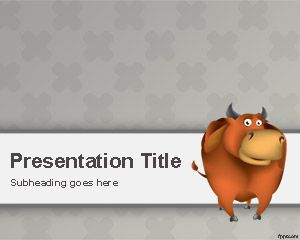 Bull PowerPoint Template