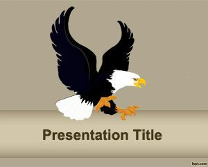 Fierce Eagle-Powerpoint-Vorlage