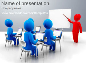 3d powerpoint template
