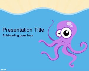 PowerPoint modelo Octopus