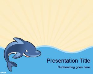 Dolphin PowerPoint Template