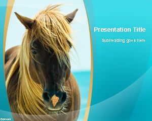 Equine PowerPoint Template