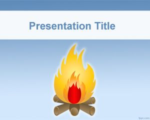 Bonfire PowerPoint Template