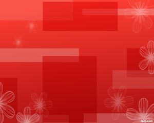 Dazzling Red PowerPoint Template