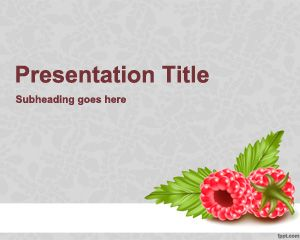 Maliny PowerPoint Template