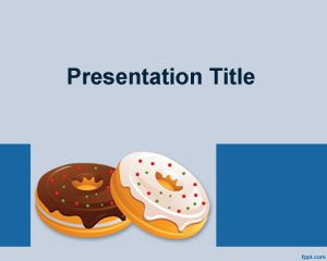 Donuts PowerPoint Template