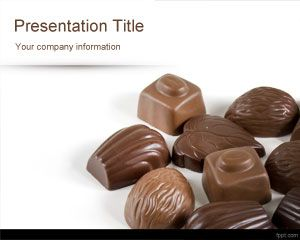 Chocolats PowerPoint Template