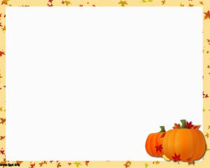Thanksgiving Holiday PPT PowerPoint Template