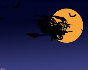 Halloween Witch PPT