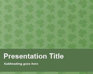 Shamrock PowerPoint Template
