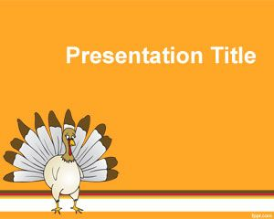 Gratis Thanksgiving Power Point Template