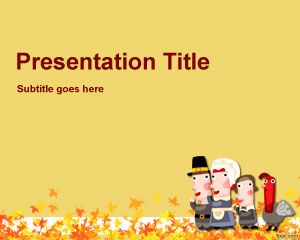 Selamat Template Thanksgiving PowerPoint