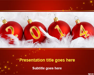 2014 New Year PowerPoint Template