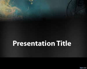 Mistery PowerPoint Template
