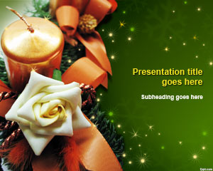 Christmas Decor PowerPoint Template