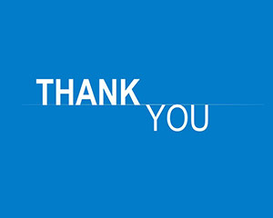 Thank You Clipart Template for PowerPoint