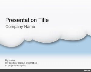 Template Cloud Computing PowerPoint