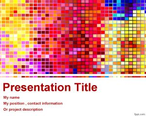 Format PowerPoint Colorat
