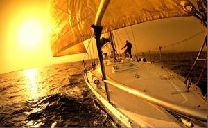 A group of sailing slideshow background picture download