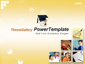 Adolescent education training PPT template download