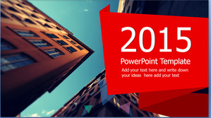 Art design architectural background PPT template