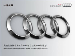 Audi Marketing Annual Work Summary and Annual Work Plan
