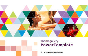 Beauty Health PPT template