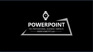 Black Simple Fashion Ppt Template Free Download Powerpoint Templates Free Download