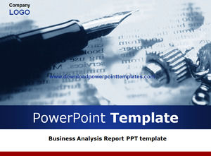 Business Analysis Report PPT-Vorlage