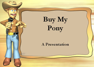 buy my pony