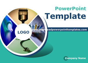 Roulette Kimia Powerpoint Template Free Download