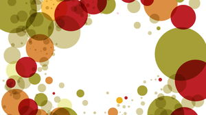 Color dot art fashion PPT background picture free download
